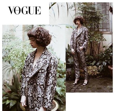 Divinity Editorial in Vogue Italia
