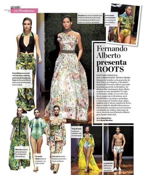 Roots Editorial Moda 2017