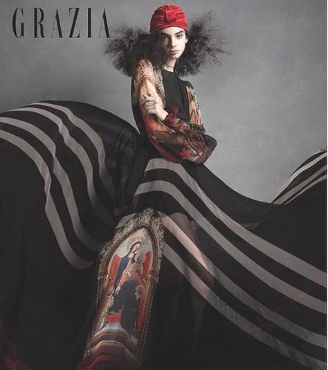 Divinity Editorial in Grazia Mexico Magazine