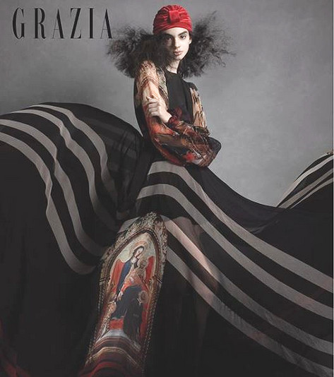 Divinity Editorial in Grazia Mexico Magazine