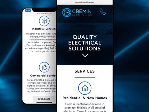 Cremin Electrical Website