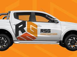 RSG Construction Vehicle Wrap
