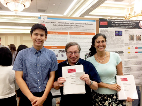 BMERC RISE students conclude their summer research