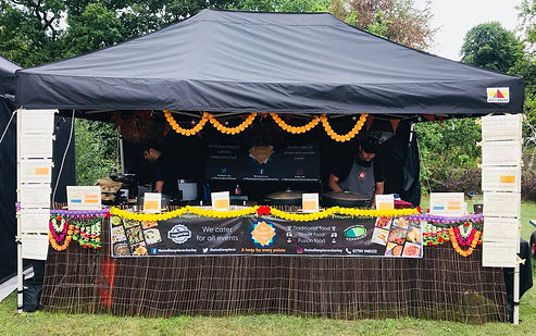 The Indian Place at the Chorley flower show