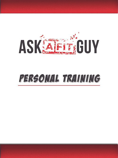 Personal Training Session (single)