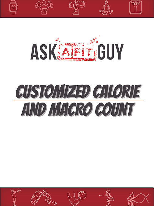 Personalized Calorie & Macro Count
