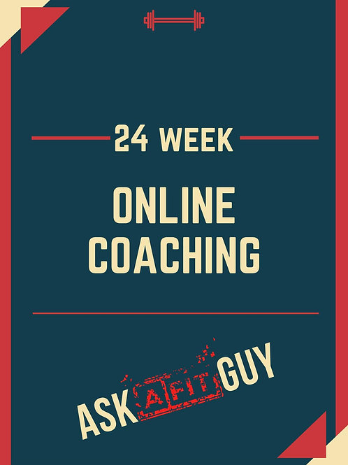 24 Week Online Coaching