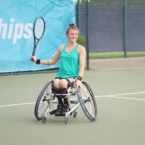 Lauren Jones - Wheelchair Tennis