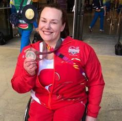 Louise Sugden - Para Powerlifting