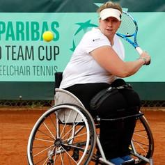 Louise Hunt - Wheelchair Tennis