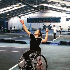 Ruby Bishop - Wheelchair Tennis