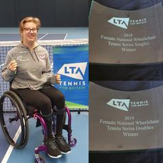 Abbie Breakwell - Wheelchair Tennis