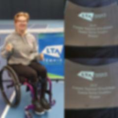 Abbie - Female national WCTennis Winner