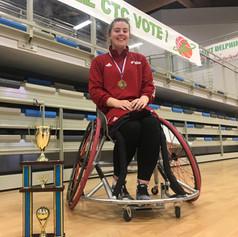 Lucy Robinson - Wheelchair Basketball