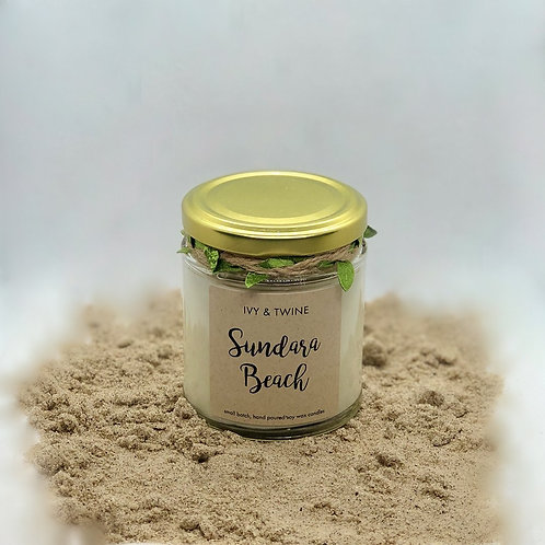 Sundara Beach (190g) Candle by Ivy & Twine