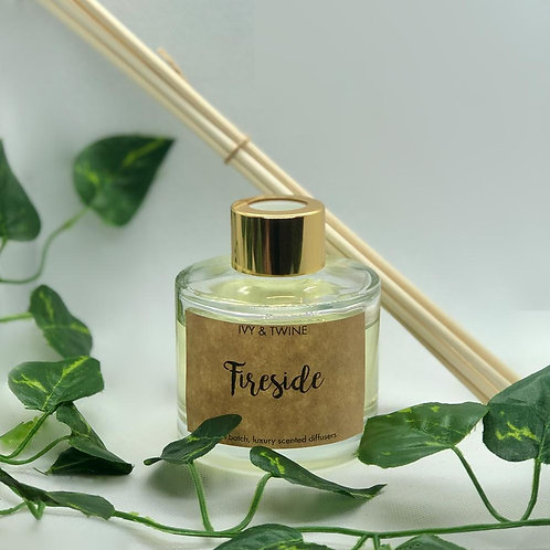 Fireside (100ml) Diffuser by Ivy & Twine
