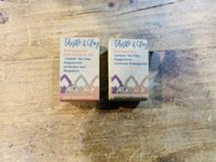 The Negotiator Organic Shampoo and Conditioner Bar by Thistle and Clay