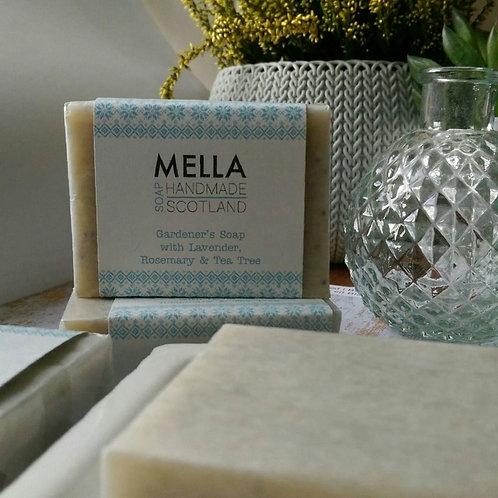 Gardener's Soap with Lavender, Rosemary & Tea Tree by Mella