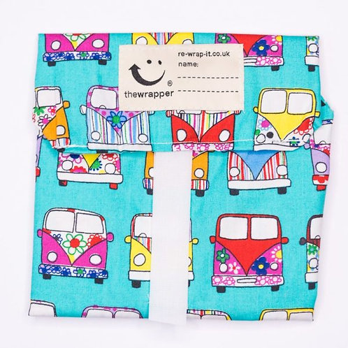 Campervans Sandwich Wrapper by Re Wrap It