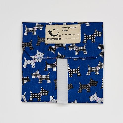 Dark Blue Scotty Dog by Re-Wrap-It