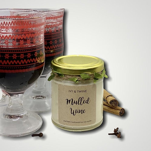 Mulled Wine Candle (190g) by Ivy and Twine