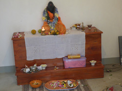 The altar in the Shrine building
