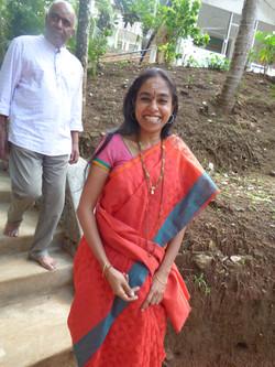 Esteemed guest, Dr. Aruna