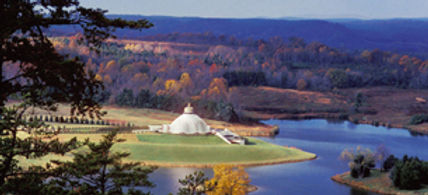 LOTUS Temple in Yogaville, Virginia