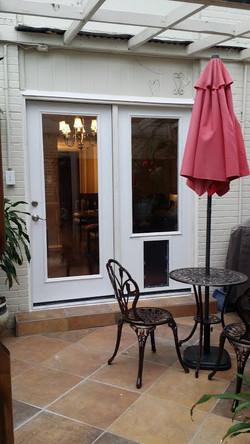70x80 One Door Open Option