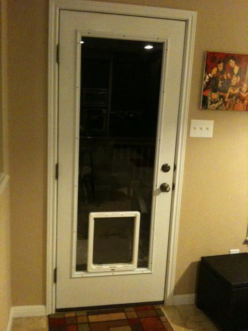 Large Doorglass 4pets Insert System Dog Doors Door