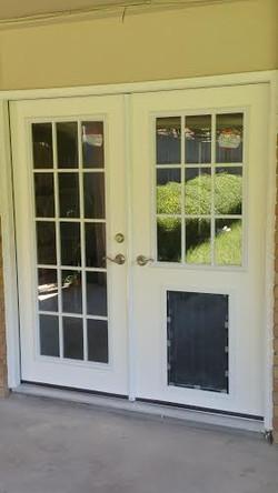 """70"""" Grid Lite French Door"""