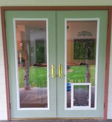 French Door Unit with Full View