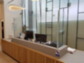 glass safety screen coronavirus