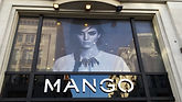 Vinyl marketing image fitted above shop in Oxford Street, Central London
