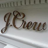 Exterior 3D logos and lettering letters