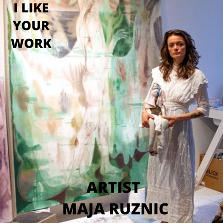Intuition, Memory & Trusting the Process of Painting with Artist Maja Ruznic