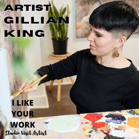 Artist Gillian King