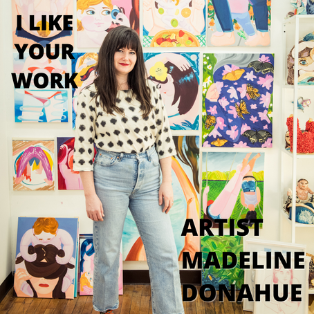 Getting Into the Studio with Intent: Madeline Donahue on How Her Practice Blossomed