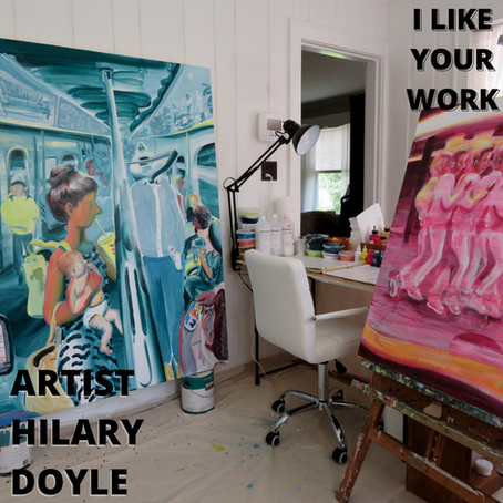 Claiming the Time In Between-Making Every Day a Studio Day with Artist Hilary Doyle