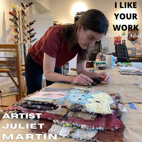 Artist Juliet Martin
