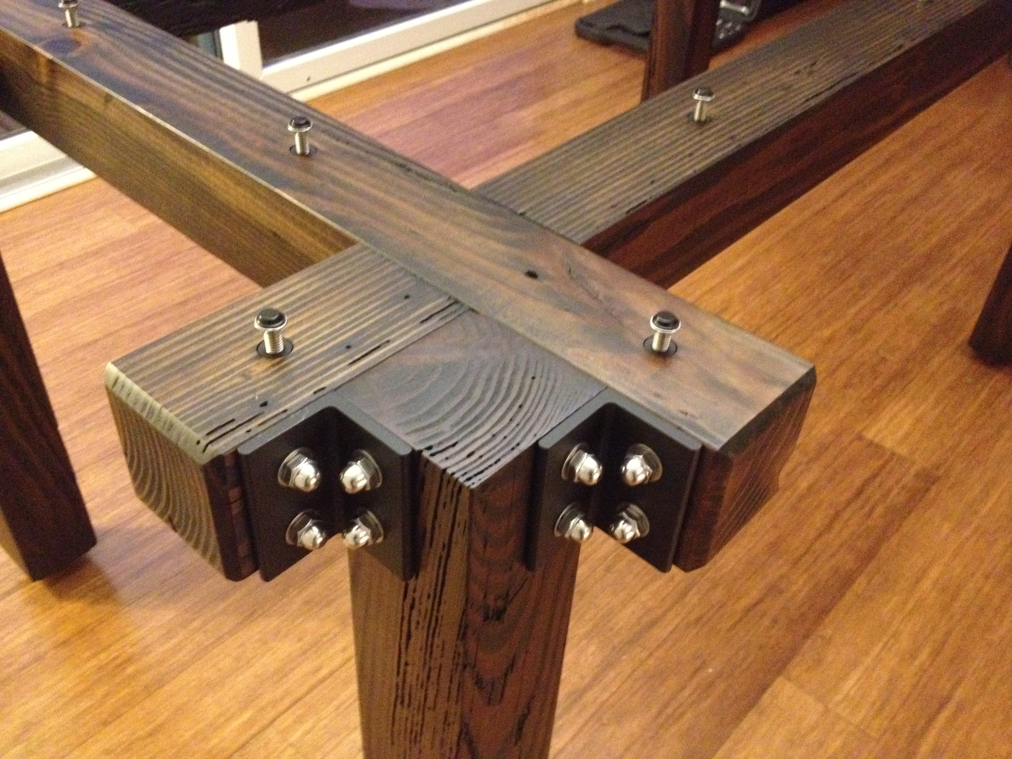 Custom Table 1 Detail w/o Glass