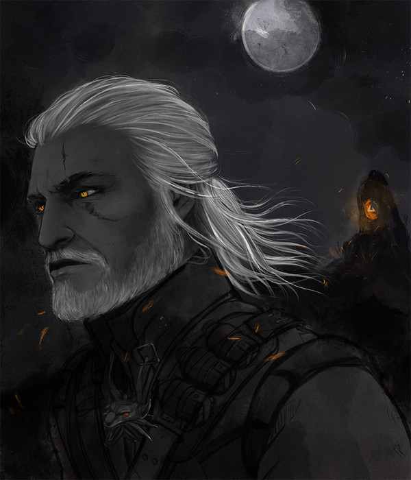 Portrait of a Witcher