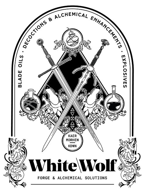 White\Wolf - Merchants of the Continent Art Print