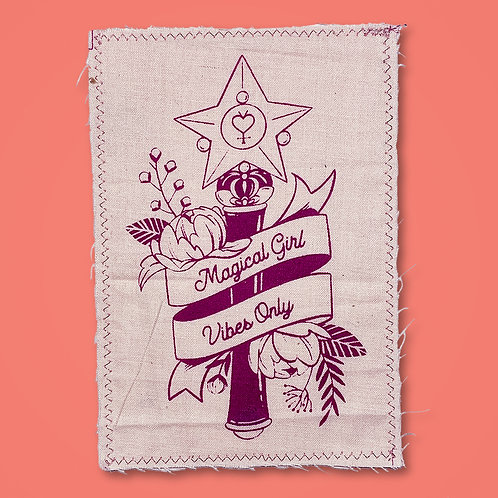 Magical Girl Vibes Only Patch