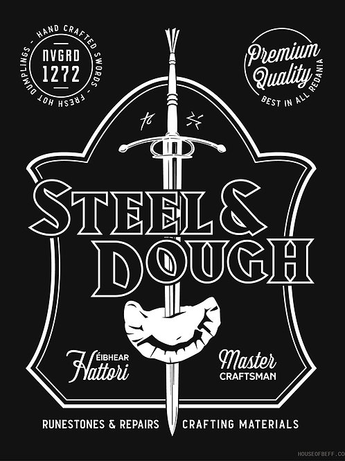 Steel & Dough - Merchants of the Continent Art Print