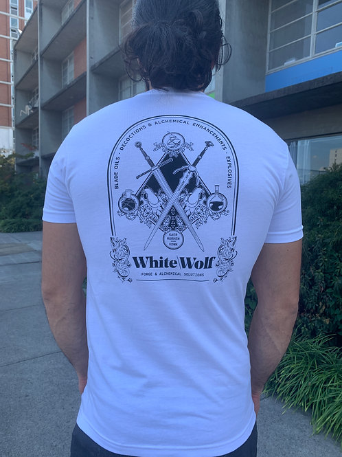 White\Wolf Forge Unisex Shirt