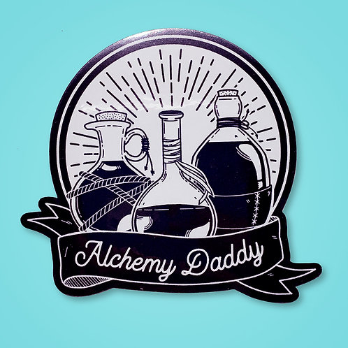 Alchemy Daddy Metallic Sticker