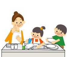 [こどもの日]⑨料理作り⑩モザイクアートパズル(家族編)