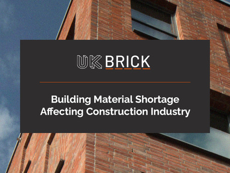 Building Material Shortage Affecting Construction Industry