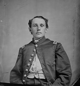 portrait unidentified union officer 1860
